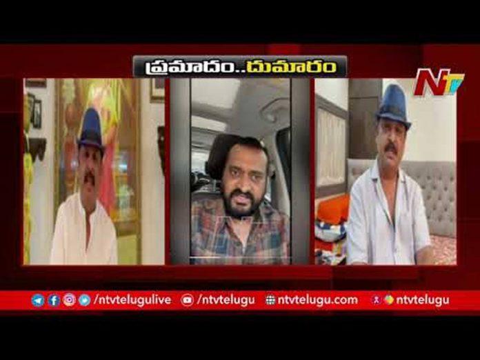 Naresh vs Bandla Ganesh Verbal War over Sai Daram tej Incident