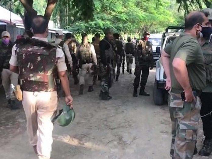 మణిపూర్లో ఉగ్రవాదుల కాల్పులు... ఐదుగురు మరణం...