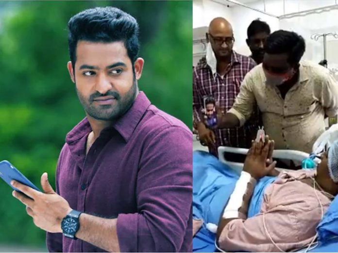 Jr NTR video call to his Seriously Sick fan