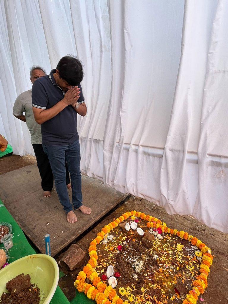ఘనంగా భూమి పూజ జరుపుకున్న ప్రణీత్ గ్రూప్ వారి 28వ ప్రతిష్టాత్మక ప్రాజెక్ట్